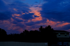 Sunset clouds 2